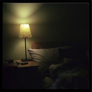 Reduce light exposure before bed to improve sleep.
