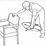Shoulder pendulum rehab exercise example
